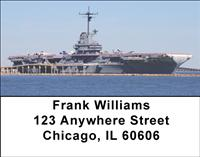 Navy Battleships Address Labels