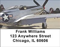 World War II Planes Address Labels