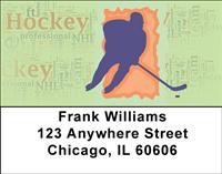 Life Is Hockey Address Labels