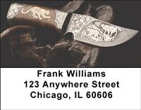 Hunting Knives Address Labels