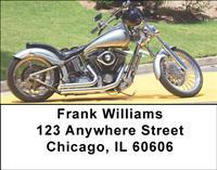 Custom Motorcycles Address Labels