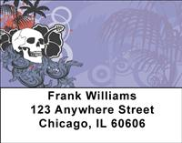 Hawaiian Skull Address Labels