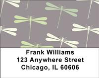 Peaceful Dragonflies Address Labels