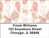 Vintage Dragonflies Address Labels