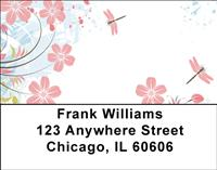 Vines and Dragonflies Address Labels