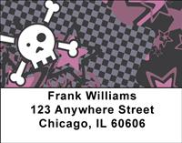 Explosive Skulls Address Labels