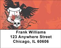 Eagle Skulls Address Labels