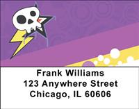 Electric Skulls Address Labels