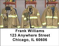 Firefighter Necessities Address Labels