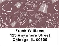 Coffee Fun Address Labels