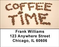 Coffee Time Address Labels