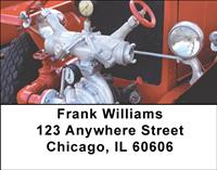 Classic Fire Engine Parts Address Labels
