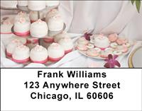 Cupcakes On Display Address Labels