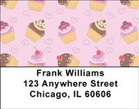 Cupcake Fun Address Labels