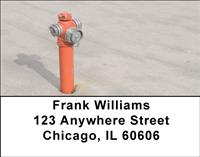 Fire Hydrants Address Labels