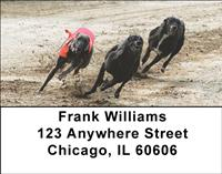 Greyhound Races Address Labels