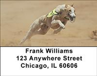 Sprinting Greyhounds Address Labels