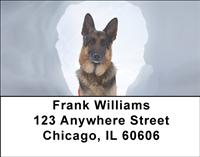 German Shepherds To The Rescue Address Labels