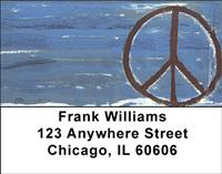 Peace All Around Address Labels
