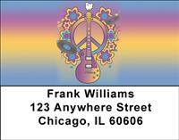 Peace And Music Address Labels
