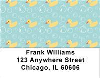 Rubber Duckies Address Labels