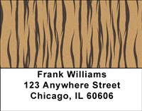 Tiger Stripes Address Labels