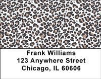 More Leopard Prints Address Labels