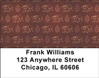 Indian Elephant Pattern Address Labels