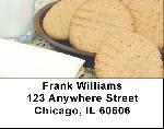 Milk and Cookies Address Labels