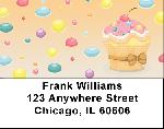 Cupcakes Address Labels
