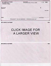 Burgundy Lines Laser Business One Per Page Voucher Checks Top Style